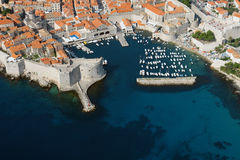 Dubrovnik port Royalty Free Stock Image