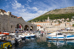 Dubrovnik. Port Royalty Free Stock Image