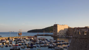 Dubrovnik port Royalty Free Stock Photo