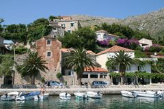 Dubrovnik riviera, Croatia. Stock Images