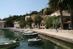 Dubrovnik riviera, Croatia. Royalty Free Stock Photography