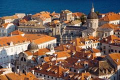 Dubrovnik roofs Stock Image