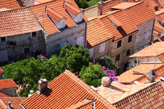 Dubrovnik roofs Royalty Free Stock Image