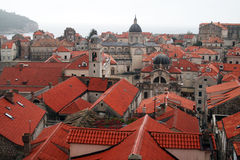 Dubrovnik roofs Royalty Free Stock Images