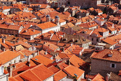 Dubrovnik roofs. Stock Photo