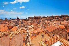 Dubrovnik roofs Royalty Free Stock Photo