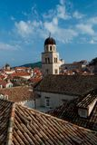 Dubrovnik rooftops Stock Images