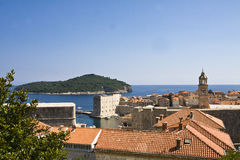 Dubrovnik rooftops Royalty Free Stock Photography