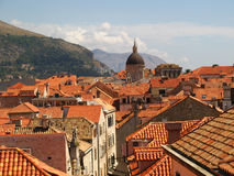 Dubrovnik rooftops Royalty Free Stock Images