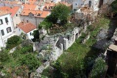 dubrovnik ruiny Zdjęcie Stock