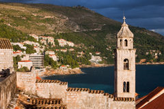 Dubrovnik Scenery Royalty Free Stock Photo