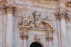 Dubrovnik sculpted figure Stock Images