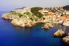 Dubrovnik, Sea, Croatia, Fortress Royalty Free Stock Images