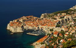 Dubrovnik sikt 10 Arkivbilder