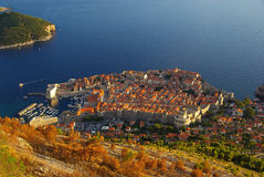 Dubrovnik sikt 32 Arkivfoto