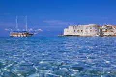 Dubrovnik sommar Arkivbild