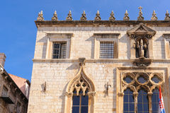 Dubrovnik Sponza Palace royalty free stock images