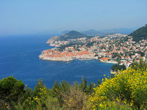 Dubrovnik In Spring, Croatia Stock Photos