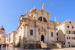 Dubrovnik-St. Blaise lizenzfreies stockbild
