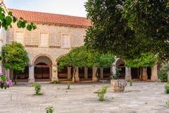 Dubrovnik St. Claire convent Stock Photo
