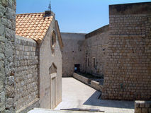 Dubrovnik stadsgator Arkivfoto