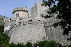 Dubrovnik stadsväggar Royaltyfri Fotografi