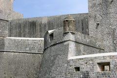 Dubrovnik stadsväggar Royaltyfria Bilder