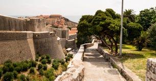 Dubrovnik-Stadt, Kroatien lizenzfreies stockbild
