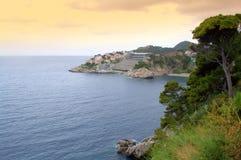 Dubrovnik-Stadtküste Lizenzfreie Stockfotografie