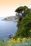 Dubrovnik-Stadtküste Lizenzfreie Stockbilder