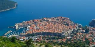 Dubrovnik-Stadtmauer Lizenzfreies Stockfoto