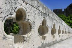 Dubrovnik staket Royaltyfria Bilder