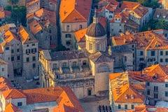 Dubrovnik stary miasteczko fotografia stock