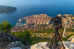 Dubrovnik stary miasteczko Zdjęcia Stock