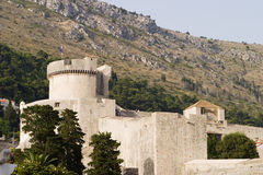 Dubrovnik Stone Walls Royalty Free Stock Images