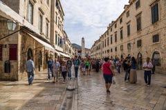 Dubrovnik. Stradun Stock Photography