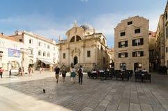 Dubrovnik, Stradun street Stock Photography