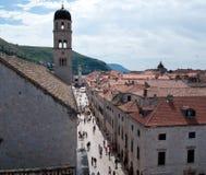 Dubrovnik street Royalty Free Stock Image