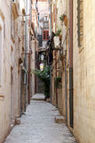 Dubrovnik street Stock Photography