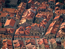 Dubrovnik street from above Royalty Free Stock Photo