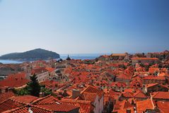 Dubrovnik street Royalty Free Stock Photo