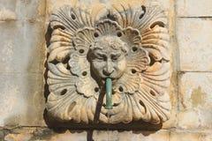 Dubrovnik. Street fountain. Royalty Free Stock Photos