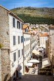Dubrovnik street life, Croatia Royalty Free Stock Photography