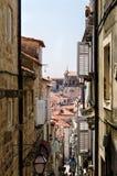 Dubrovnik street Stock Image