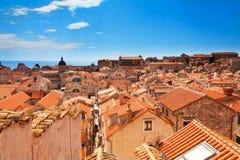 Dubrovnik tak Royaltyfri Foto