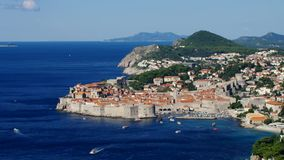 Dubrovnik stock footage