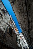 Dubrovnik tower stock photo