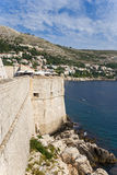 Dubrovnik. Town and fortress Stock Photos