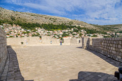 Dubrovnik. Town and fortress Royalty Free Stock Photography