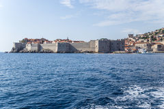 Dubrovnik. Town and fortress Royalty Free Stock Images